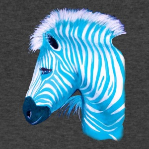 Tshirt Zebra - Men's V-Neck T-Shirt by Canvas