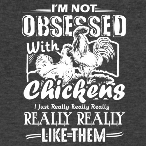 I Like Chickens Shirt - Men's V-Neck T-Shirt by Canvas