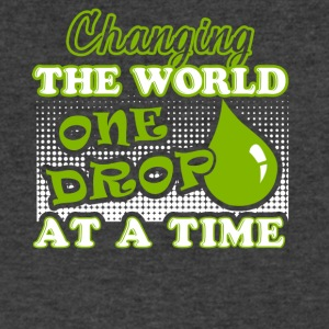 Essential Oils Changing The Word One Drop A Time - Men's V-Neck T-Shirt by Canvas