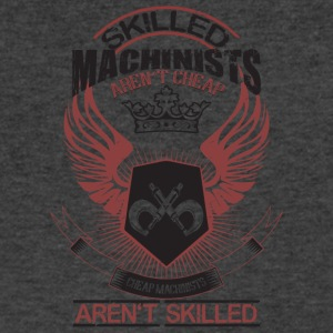 Skilled Machinists Aren't Cheap T Shirt - Men's V-Neck T-Shirt by Canvas