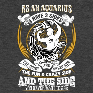 As a aquarius I have 3 sides - Men's V-Neck T-Shirt by Canvas