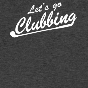 Lets go Clubbing - Men's V-Neck T-Shirt by Canvas