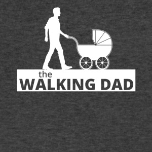 Walking Dad - Men's V-Neck T-Shirt by Canvas