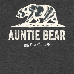 Auntie bear - Men's V-Neck T-Shirt by Canvas