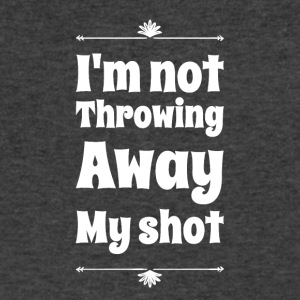 I'm not throwing away my shot - Men's V-Neck T-Shirt by Canvas