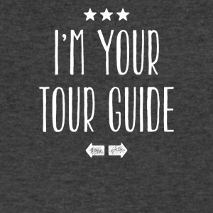 I'm your tour guide - Men's V-Neck T-Shirt by Canvas