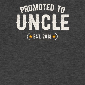 Promoted To Uncle 2018 - Men's V-Neck T-Shirt by Canvas