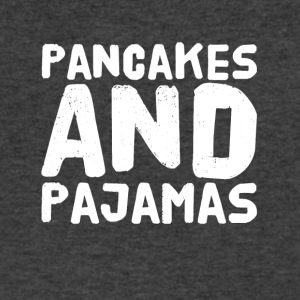 Pancakes and pajamas - Men's V-Neck T-Shirt by Canvas