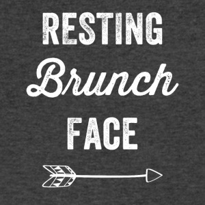 Resting brunch face - Men's V-Neck T-Shirt by Canvas