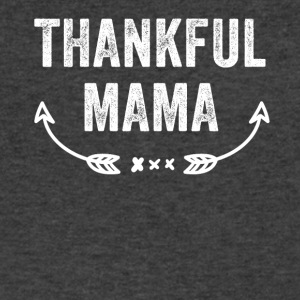 Thankful mama - Men's V-Neck T-Shirt by Canvas
