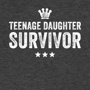 Teenage daughter survivor - Men's V-Neck T-Shirt by Canvas