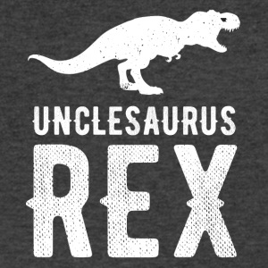 Unclesaurus Rex - Men's V-Neck T-Shirt by Canvas