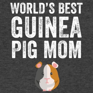 world's best guinea pig mom - Men's V-Neck T-Shirt by Canvas