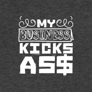 My business kicks as$ - Men's V-Neck T-Shirt by Canvas