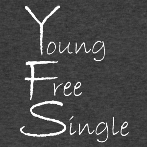 Young Free Single from Bent Sentimenta - Men's V-Neck T-Shirt by Canvas