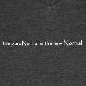 Paranormal new Normal W - Men's V-Neck T-Shirt by Canvas
