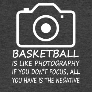 Basketball-Like Photography-cool shirt,geek hoodie - Men's V-Neck T-Shirt by Canvas