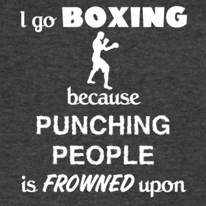 Boxing Love Gift- cool shirt,geek hoodie,tank - Men's V-Neck T-Shirt by Canvas