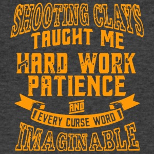 Shooting Clays Taught Me - Men's V-Neck T-Shirt by Canvas