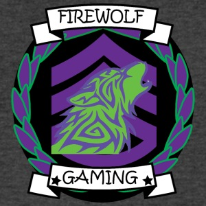 Firewolf gaming clan - Men's V-Neck T-Shirt by Canvas