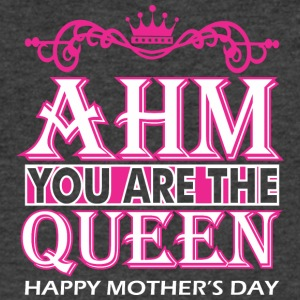 Ahm You Are The Queen Happy Mothers Day - Men's V-Neck T-Shirt by Canvas