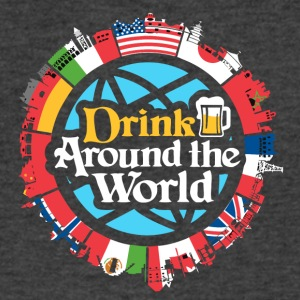 drink around the world - Men's V-Neck T-Shirt by Canvas