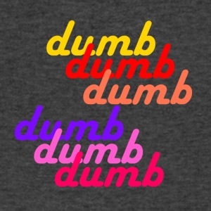 dumb dumb RedVelvet - Men's V-Neck T-Shirt by Canvas