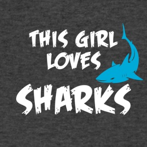 Sharks - Men's V-Neck T-Shirt by Canvas