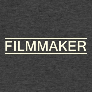 filmmaker white - Men's V-Neck T-Shirt by Canvas