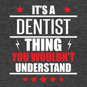 It's A Dentist Thing - Men's V-Neck T-Shirt by Canvas