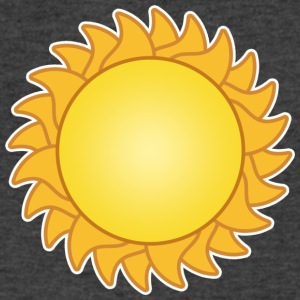 sun sol sunset sundown sunbeams sunshine sunflower - Men's V-Neck T-Shirt by Canvas