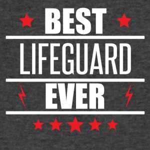 Best Lifeguard Ever - Men's V-Neck T-Shirt by Canvas