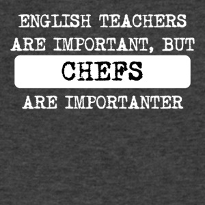 Chefs Are Importanter - Men's V-Neck T-Shirt by Canvas