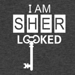 i am sherlock - Men's V-Neck T-Shirt by Canvas