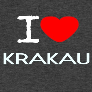 I LOVE KRAKAU - Men's V-Neck T-Shirt by Canvas