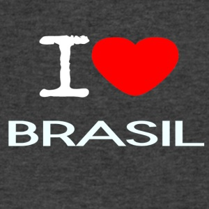 I LOVE BRASIL - Men's V-Neck T-Shirt by Canvas