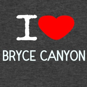 I LOVE BRYCE CANYON - Men's V-Neck T-Shirt by Canvas