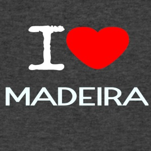I LOVE MADEIRA - Men's V-Neck T-Shirt by Canvas