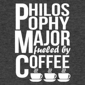 Philosophy Major Fueled By Coffee - Men's V-Neck T-Shirt by Canvas