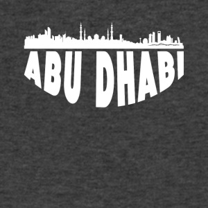 Abu Dhabi Cityscape Skyline - Men's V-Neck T-Shirt by Canvas