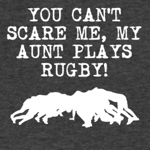 My Aunt Plays Rugby - Men's V-Neck T-Shirt by Canvas