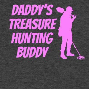 Daddy's Treasure Hunting Buddy - Men's V-Neck T-Shirt by Canvas