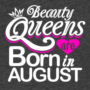 Beauty Queens Born in August - Men's V-Neck T-Shirt by Canvas