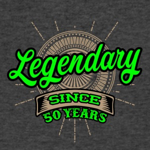 Legendary since 50 years t-shirt and hoodie - Men's V-Neck T-Shirt by Canvas