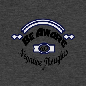 Be Aware - Men's V-Neck T-Shirt by Canvas