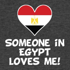 Someone In Egypt Loves Me - Men's V-Neck T-Shirt by Canvas