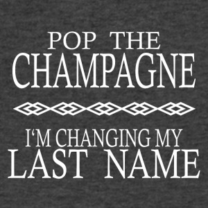 POP THE CHAMPAGNE STAG NIGHT HEN NIGHT - Men's V-Neck T-Shirt by Canvas