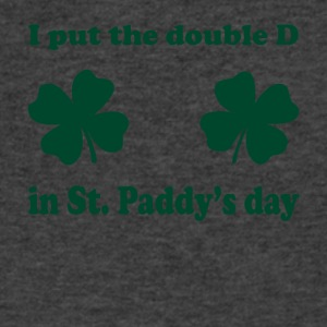 paddy double d - Men's V-Neck T-Shirt by Canvas