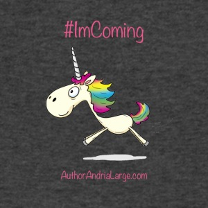 #ImComing - Men's V-Neck T-Shirt by Canvas