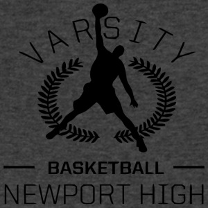 Varsity Basketball - Men's V-Neck T-Shirt by Canvas